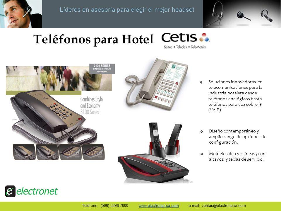 Líderes en asesoría para elegir el mejor headset Teléfonos para Hotel Soluciones innovadoras en telecomunicaciones para la industria hotelera desde te