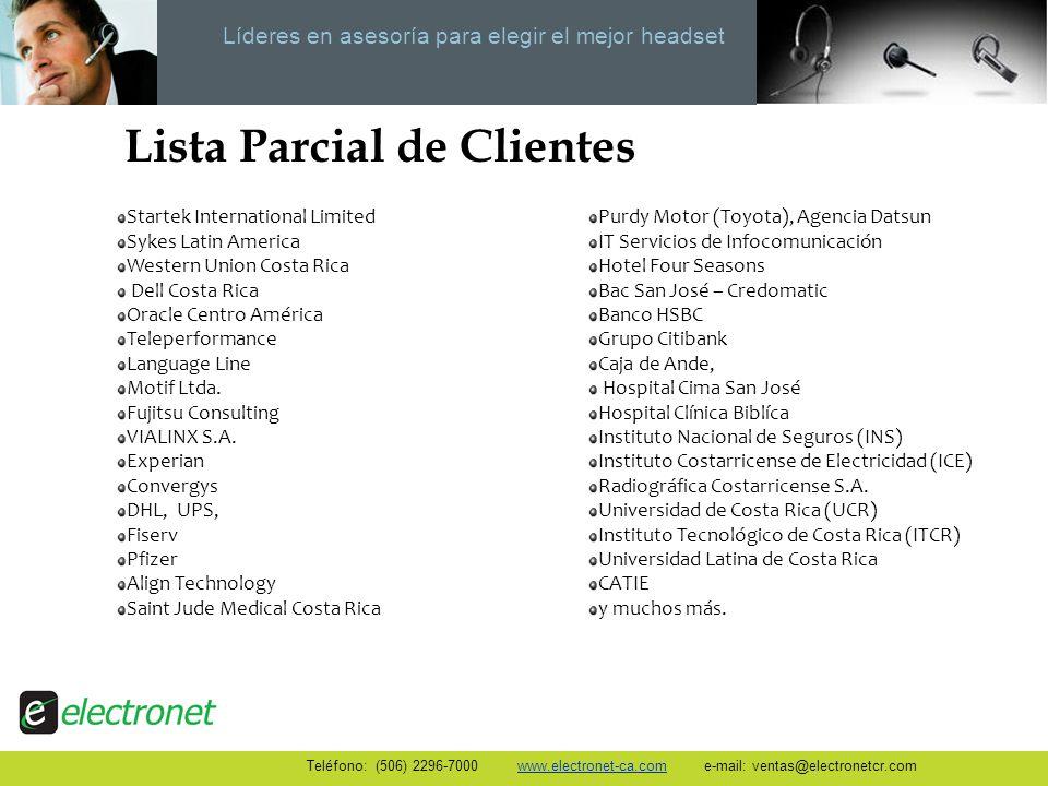 Líderes en asesoría para elegir el mejor headset Startek International Limited Sykes Latin America Western Union Costa Rica Dell Costa Rica Oracle Cen