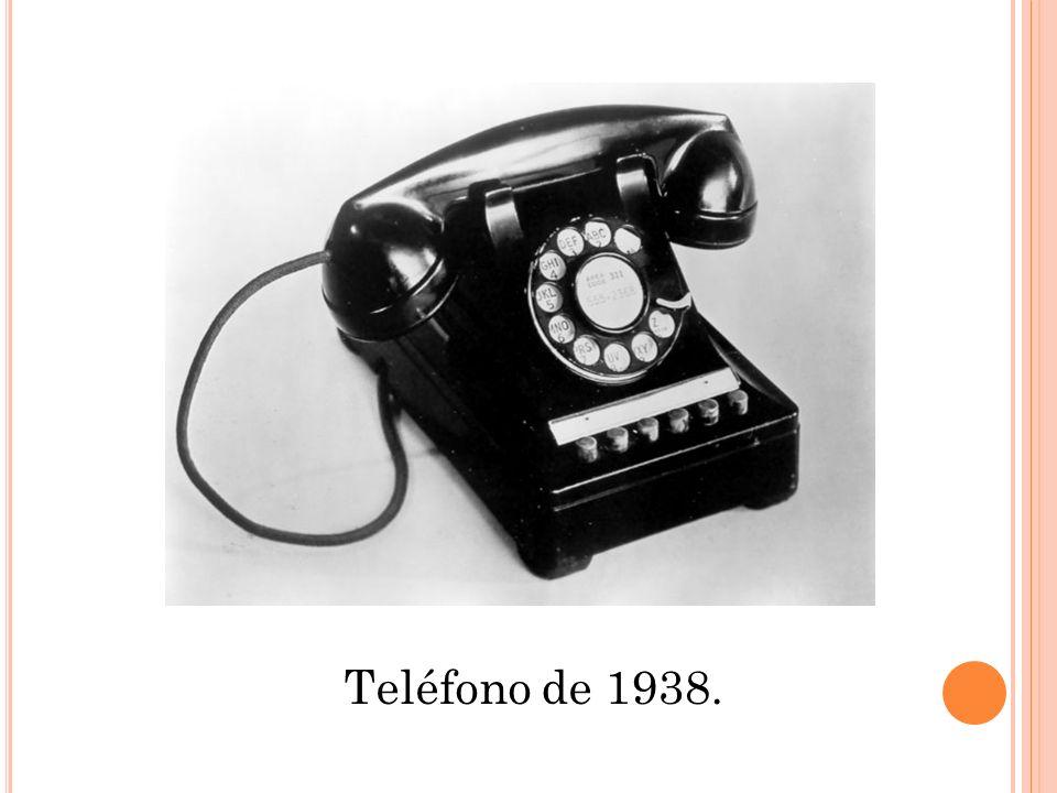 Teléfono de 1938.