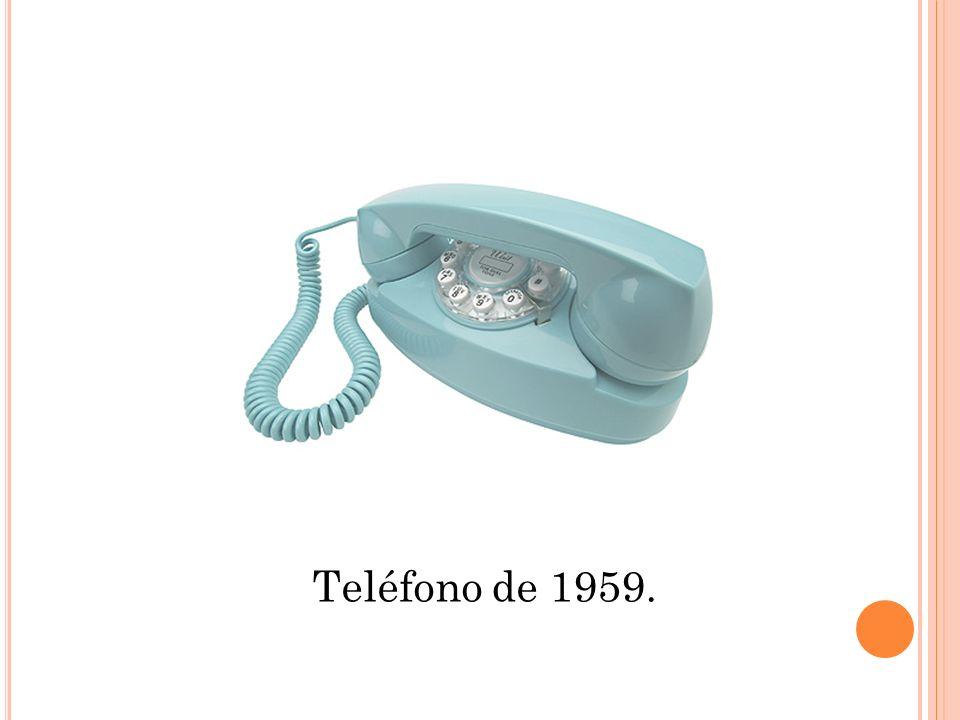 Teléfono de 1959.