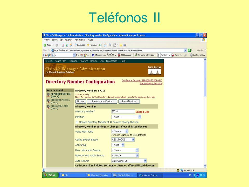 Teléfonos II