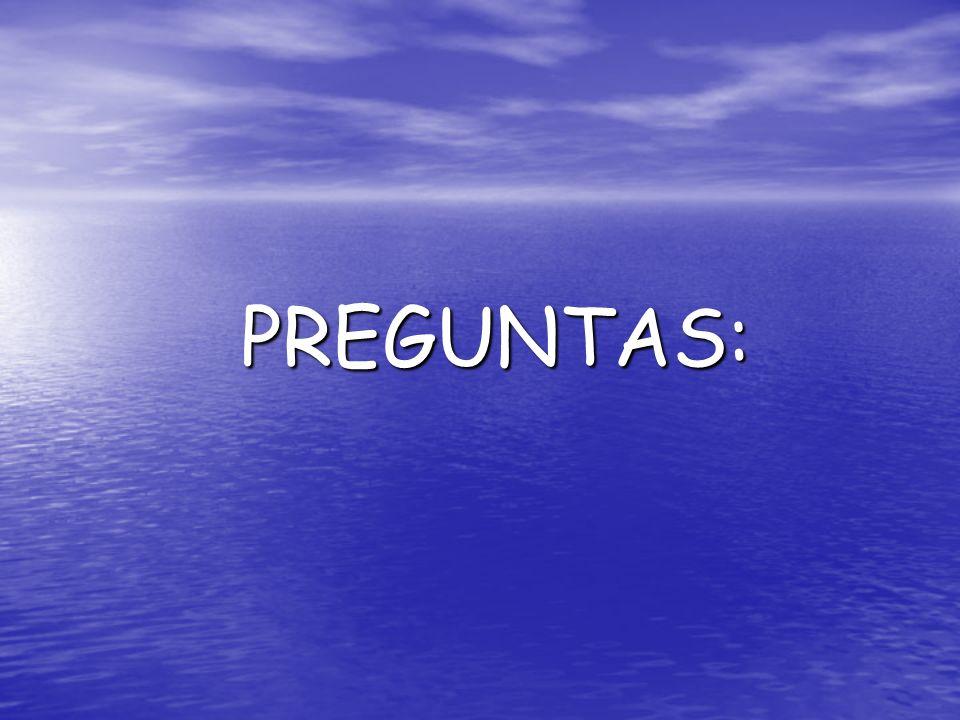 PREGUNTAS: