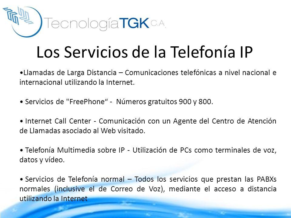 Los Servicios de la Telefonía IP Llamadas de Larga Distancia – Comunicaciones telefónicas a nivel nacional e internacional utilizando la Internet. Ser