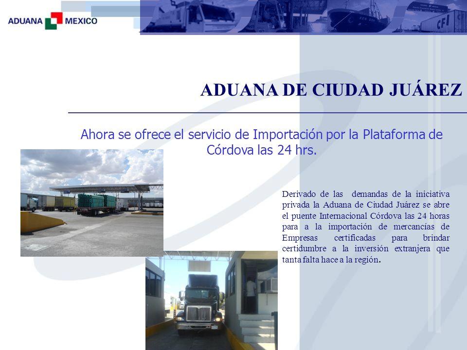 Beneficios de la aduana de carga en el aeropuerto local: Insumos o equipo para sus procesos productivos.