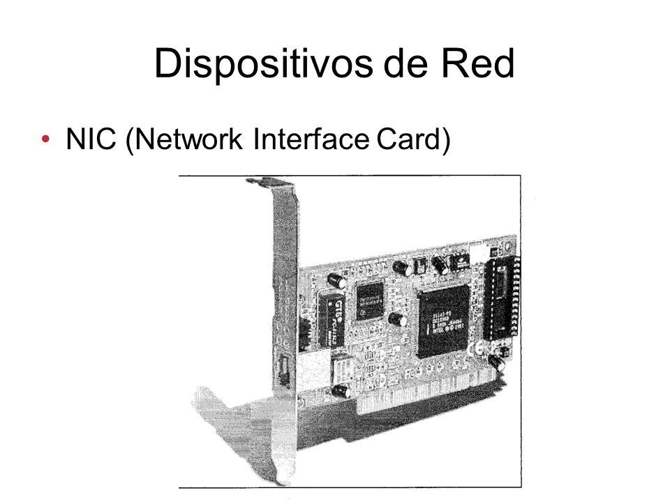 Dispositivos de Red NIC (Network Interface Card)