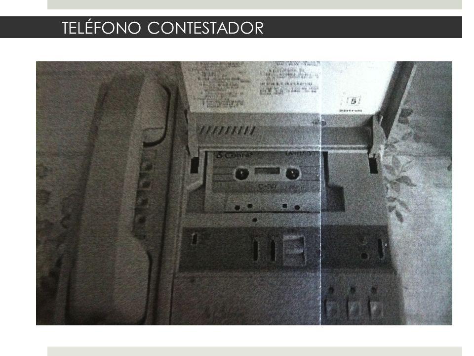 TELÉFONO CONTESTADOR