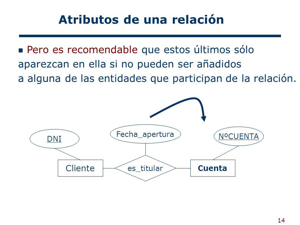 14 Pero es recomendable que estos últimos sólo aparezcan en ella si no pueden ser añadidos a alguna de las entidades que participan de la relación. At