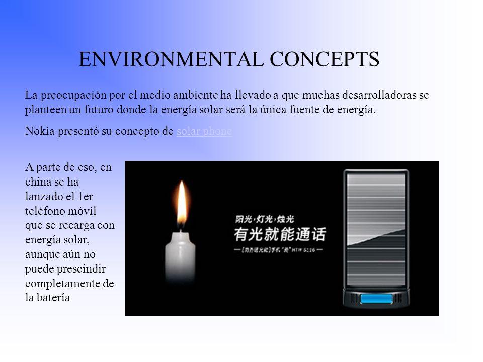 ENVIRONMENTAL CONCEPTS La preocupación por el medio ambiente ha llevado a que muchas desarrolladoras se planteen un futuro donde la energía solar será