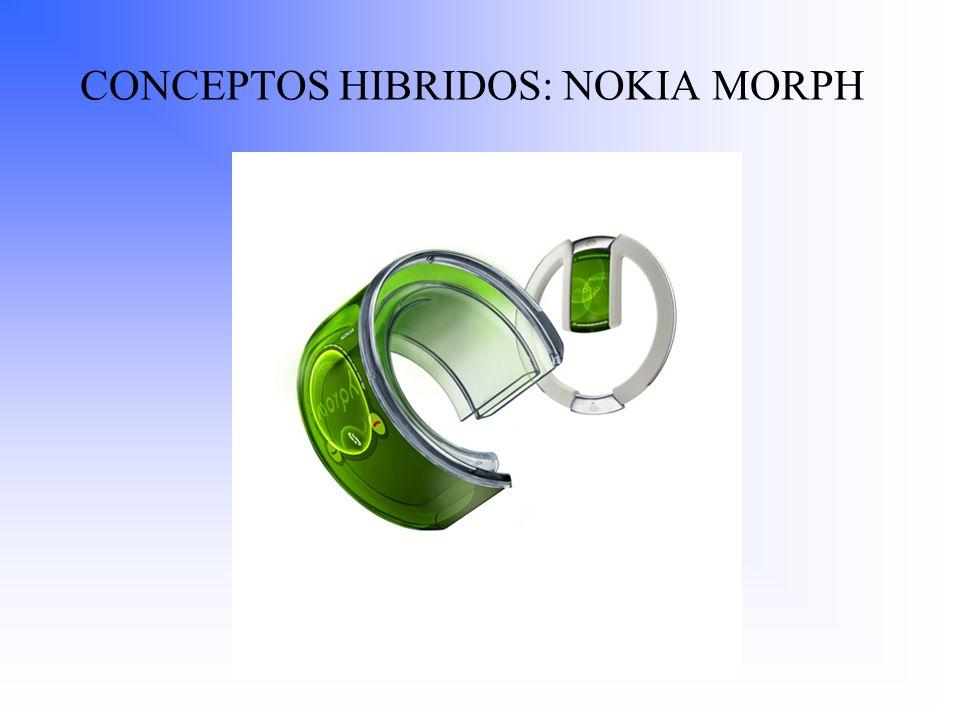 CONCEPTOS HIBRIDOS: NOKIA MORPH