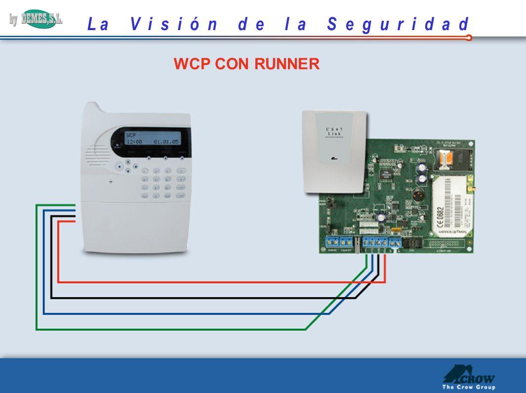 L a V i s i ó n d e l a S e g u r i d a d POS NEG CLOCK DATA GSM CON RUNNER RUNNERCS 47 LINK
