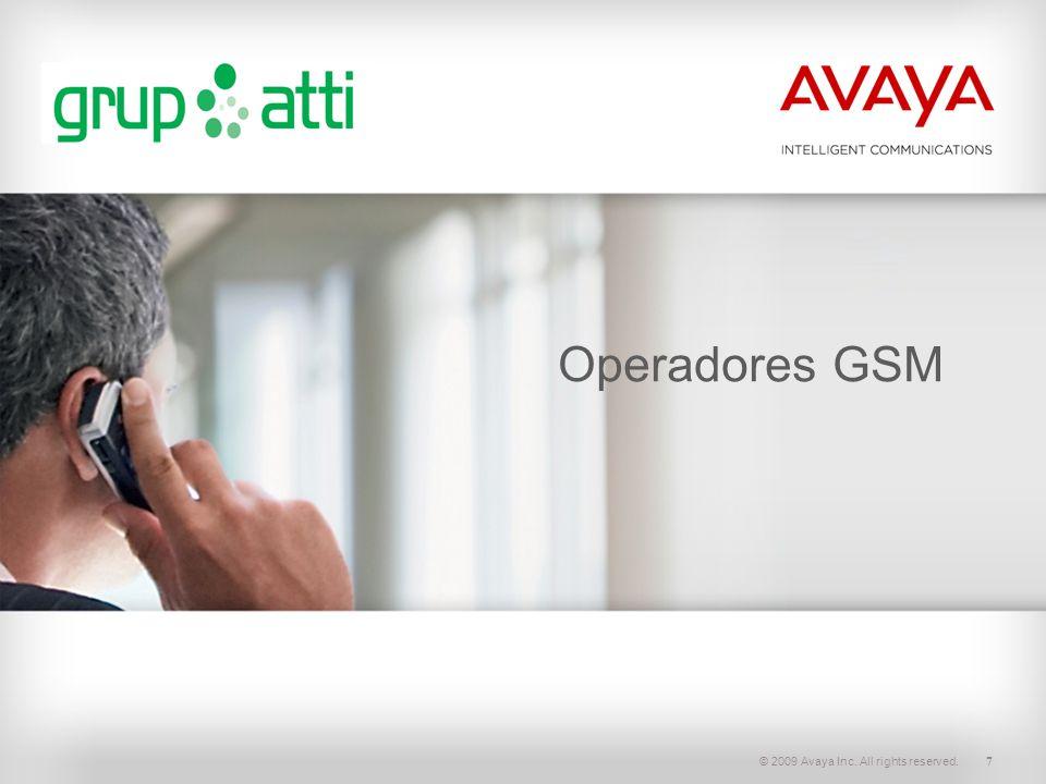 © 2009 Avaya Inc. All rights reserved.18 Comunicaciones Unificadas