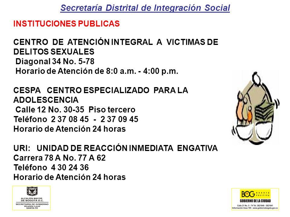 Secretaría Distrital de Integración Social OBLIGACIONES DE LA INSTITUCIONES EDUCATIVAS RUTAS DISTRITAL DE ATENCIÓN A VÍCTIMAS DE MALTRATO INFANTIL, DELITOS SEXUALES Y VIOLENCIA INTRAFAMILIAR 1.IDENTIFICACIÓN: de Presuntas Situaciones Abuso Sexual, Maltrato Infantil o Explotación Laboral Infantil, En Niñas Niños Y Adolescentes 2.ACOMPAÑAMIENTO: del niño, niña o adolescente ante las autoridades competentes ( I.B.C.F.