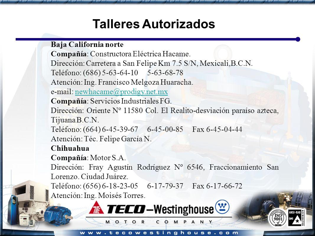 Baja California norte Compañía: Constructora Eléctrica Hacame.