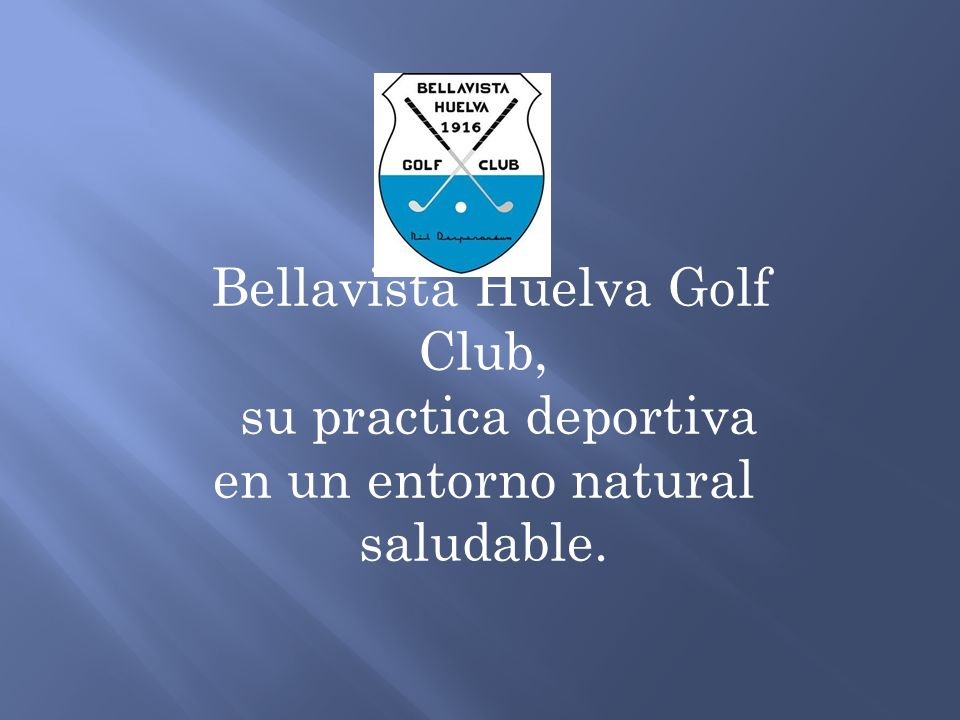 Bellavista Huelva Golf Club, su practica deportiva en un entorno natural saludable.