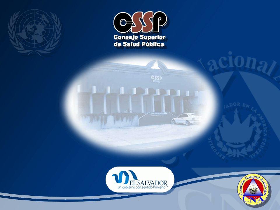 1- Ministerio de Salud Pública y Asistencia Social La salud pública en El Salvador Atención Hospitalaria Programas preventivos Rehabilitación Atención Hospitalaria Programas preventivos Rehabilitación 2- Consejo Superior de Salud Pública