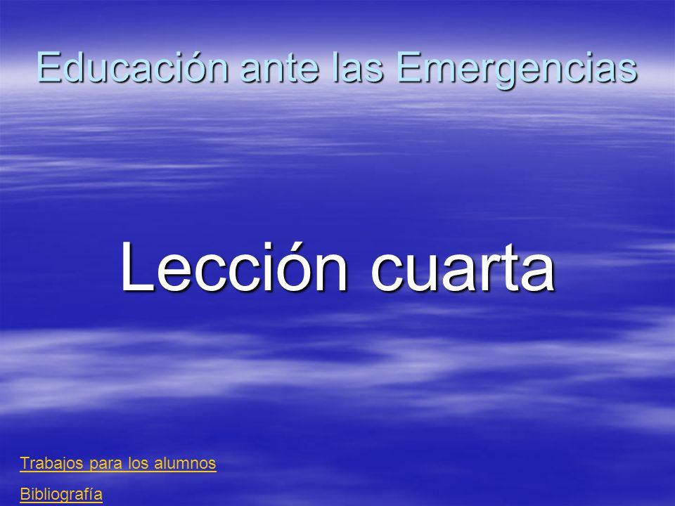 Emergencias El eslabón más importante en la asistencia sanitaria inicial es el de los cuidados básicos proporcionados por la primera persona que encuentre a la víctima de un accidente.