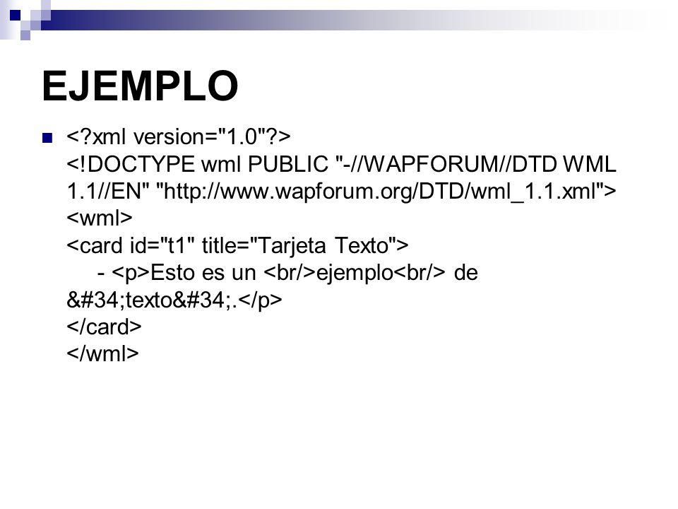 """EJEMPLO - Esto es un ejemplo de """"texto""""."""
