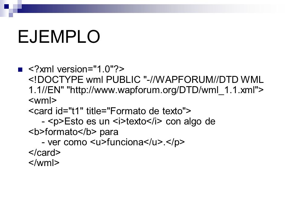 EJEMPLO - Esto es un texto con algo de formato para - ver como funciona.