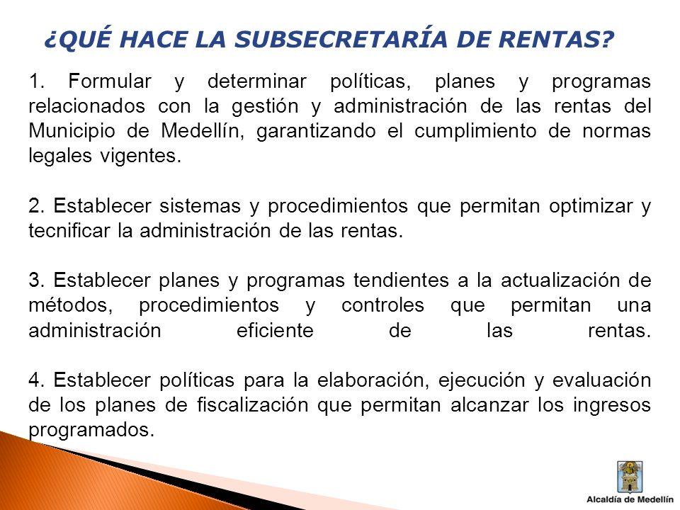 ¿QUÉ HACE LA SUBSECRETARÍA DE RENTAS.5.