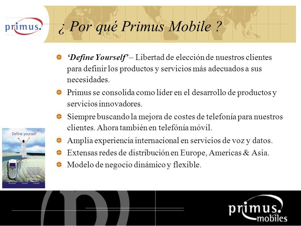 17 ¿ Por qué Primus Mobile .