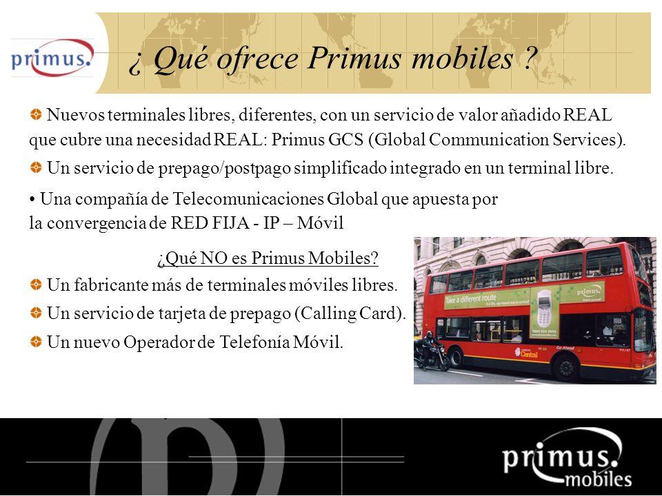 18 ¿ Qué ofrece Primus mobiles .