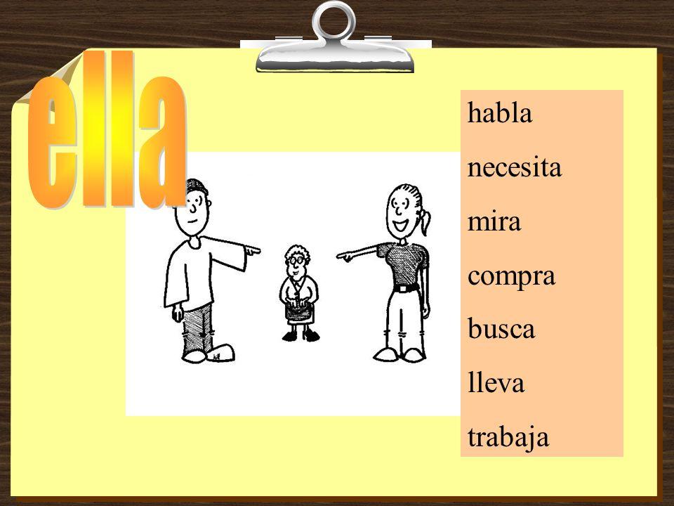 Yo _______ con mi amigo Juan. hablo hablashabla