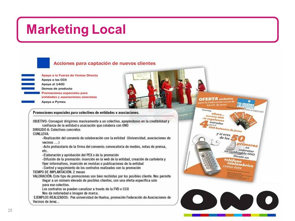28 Marketing Local