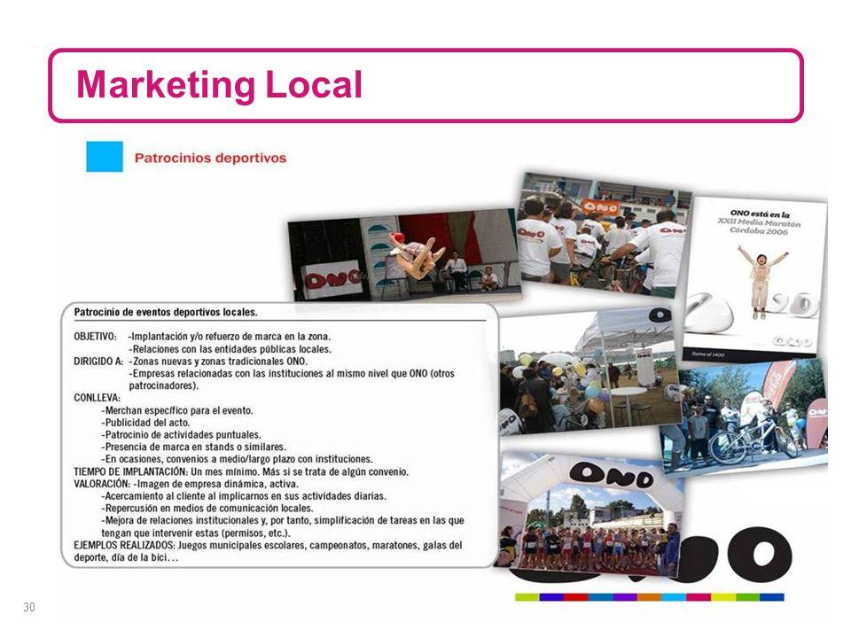 30 Marketing Local