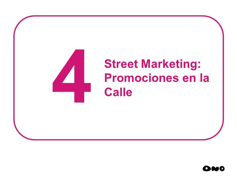 4 Street Marketing: Promociones en la Calle