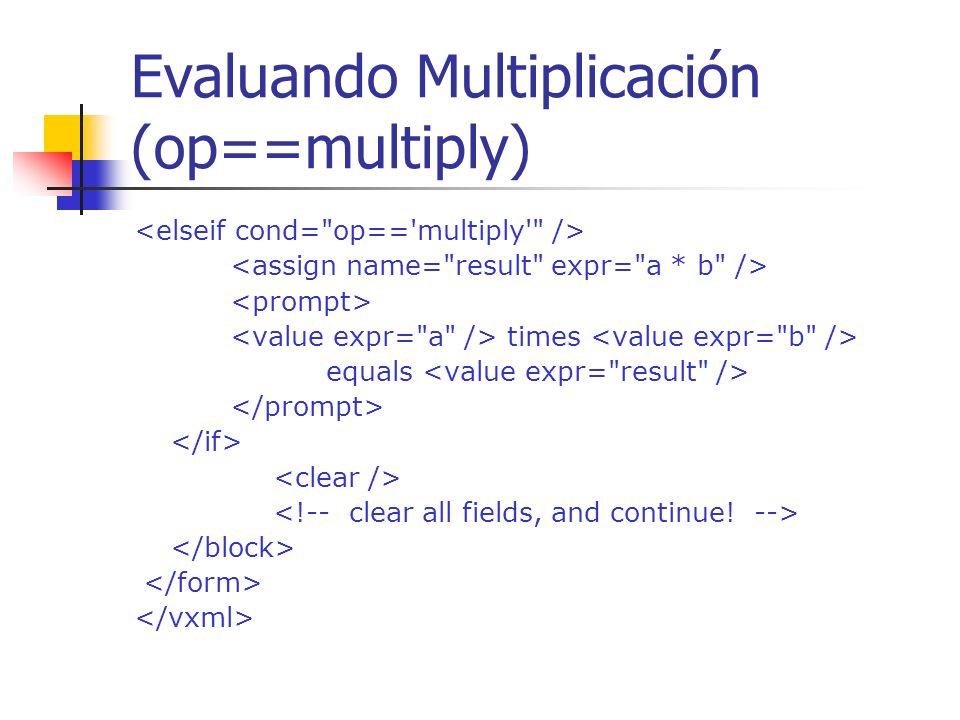 Evaluando Suma (op==add) plus equals
