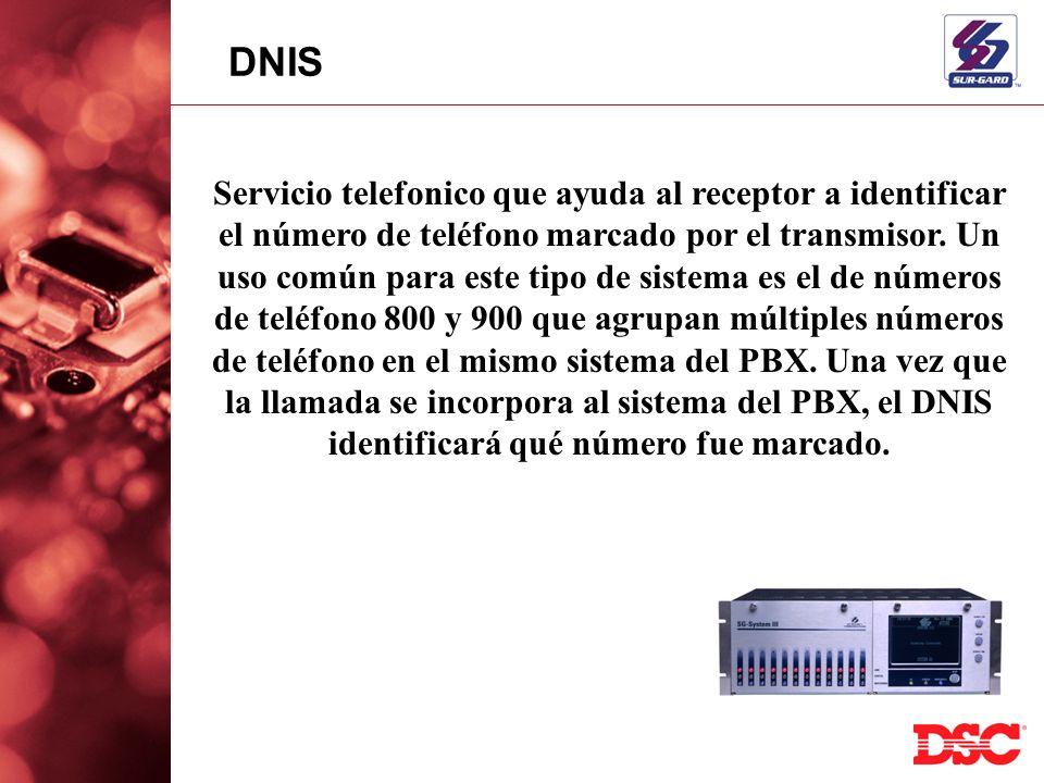Servicio telefonico que ayuda al receptor a identificar el número de teléfono marcado por el transmisor. Un uso común para este tipo de sistema es el