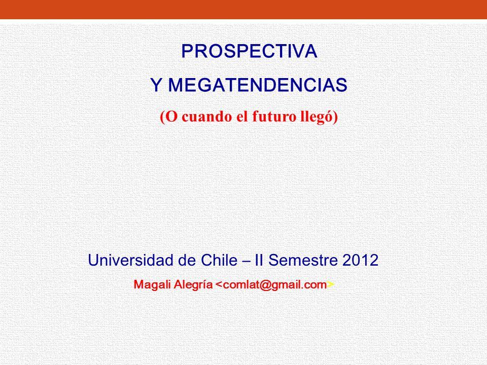CFG – U de Chile – 2003 -2012 Globalización (Apertura de Mercados, TLCs) Gran Minería (Sentados en un tesoro) Nueva Economía (Robótica.
