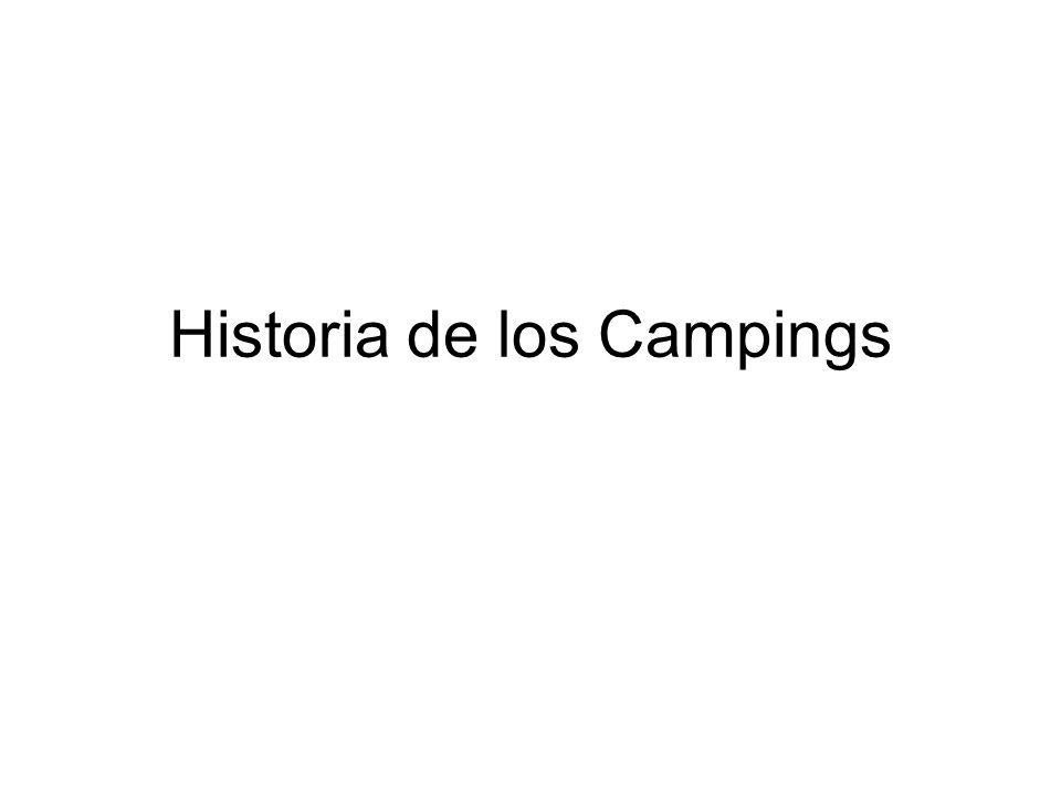 Historia de los Campings