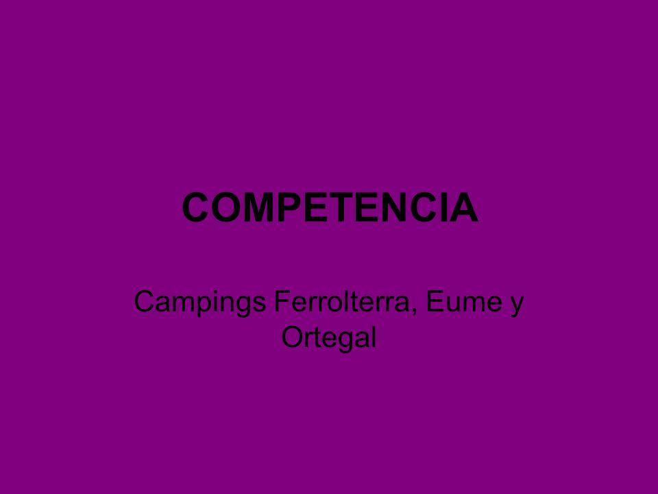 COMPETENCIA Campings Ferrolterra, Eume y Ortegal