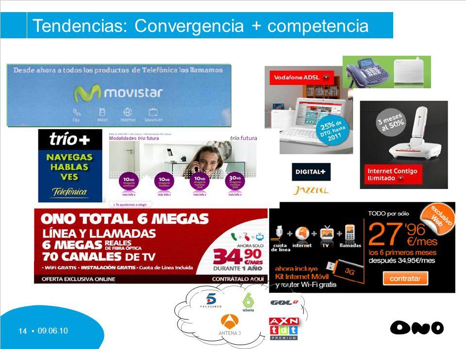 09.06.10 14 Tendencias: Convergencia + competencia