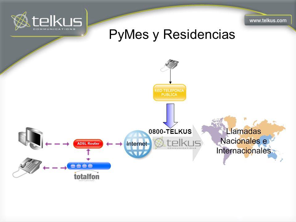 PyMes y Residencias 0800-TELKUS
