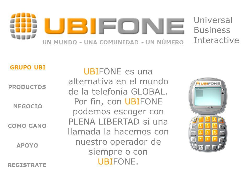 Ubi Web: GRUPO UBI PRODUCTOS NEGOCIO COMO GANO APOYO REGISTRATE Nuestra empresa nos provee de una web pública en 10 idiomas para mostrar a todos nuestros prospectos.