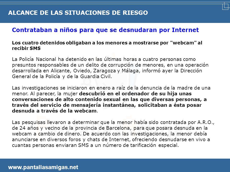 www.pantallasamigas.net Detenido un hombre en Oviedo que tenía 6.738 archivos de pornografía infantil Los Mossos d´Esquadra y la Guardia Civil han rea