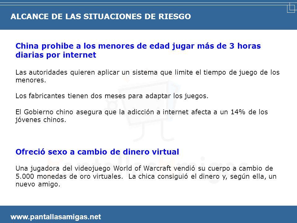 www.pantallasamigas.net Contrataban a niños para que se desnudaran por Internet Los cuatro detenidos obligaban a los menores a mostrarse por