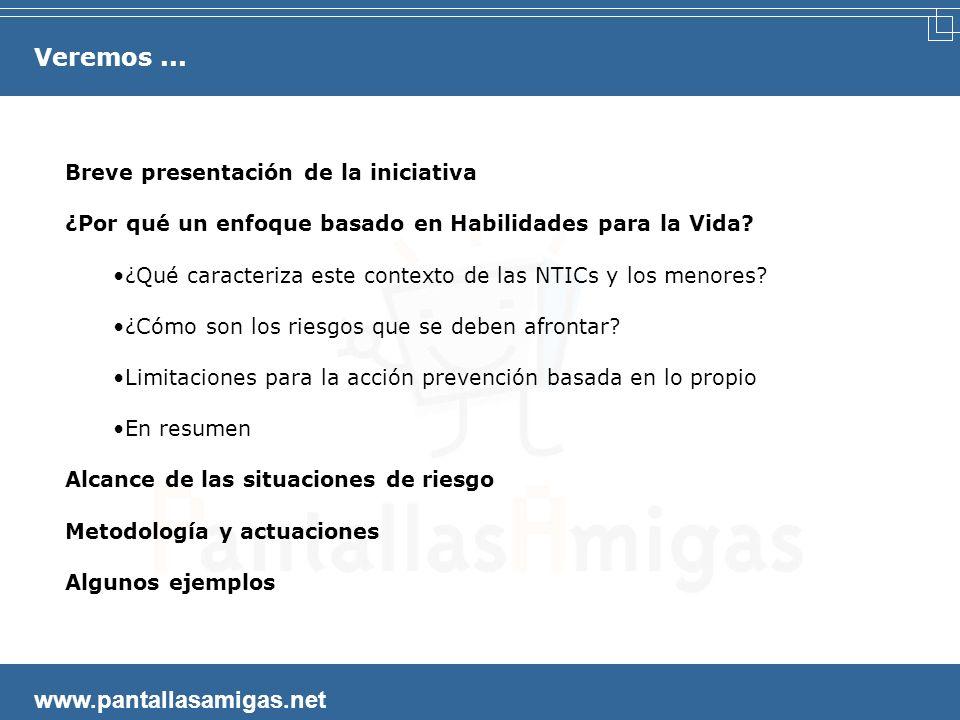 (Tenerife, 27-09-2007) Jorge Flores Fernández, Coordinador info@pantallasamigas.net II Seminario Internacional de Habilidades para la Vida