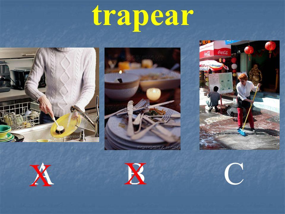 trapear ABC X X