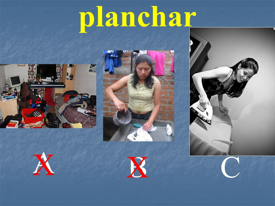 A BC planchar X X