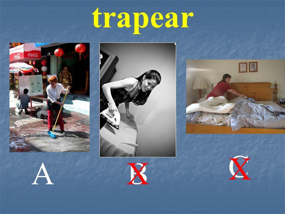 AB C trapear X X