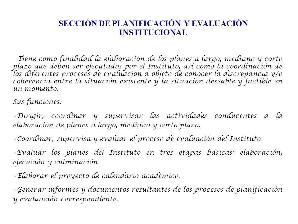 Esta Sección cuenta con el siguiente Recurso Humano: Prof.