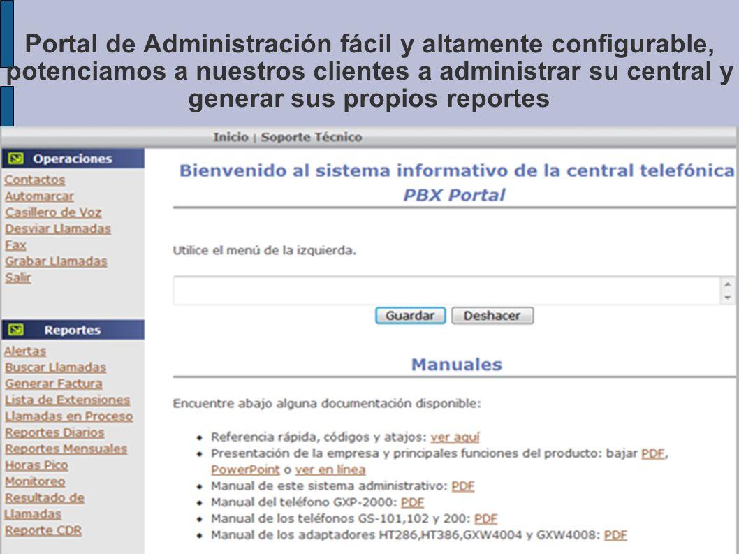 1.Fácil interpretación de reportes en los que se ven los nombres de sus clientes y asociados.