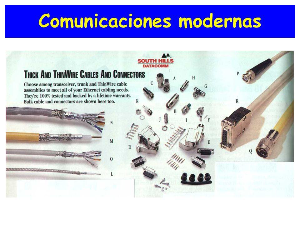 Comunicaciones modernas