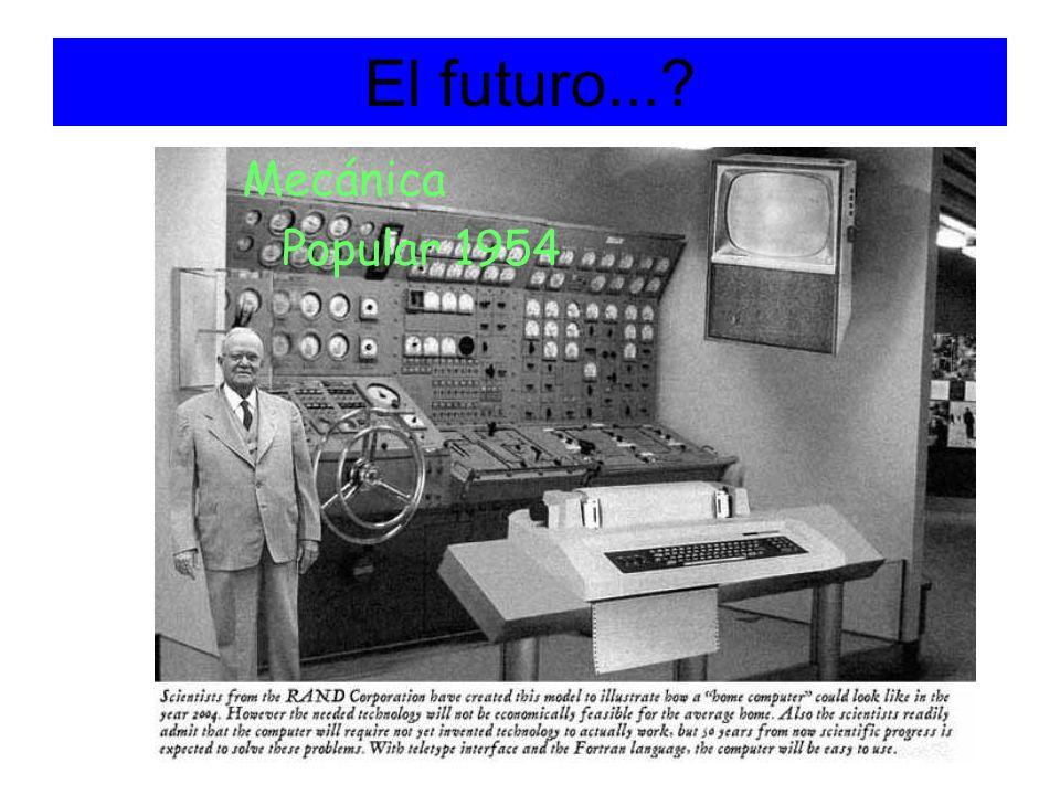 El futuro...? Mecánica Popular 1954
