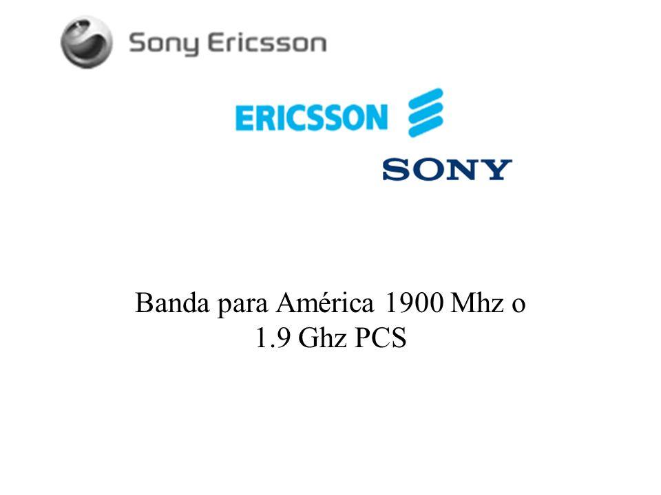 Banda para América 1900 Mhz o 1.9 Ghz PCS