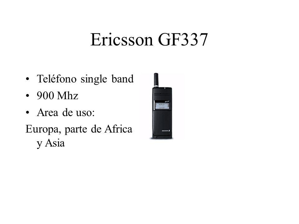 Ericsson GF337 Teléfono single band 900 Mhz Area de uso: Europa, parte de Africa y Asia