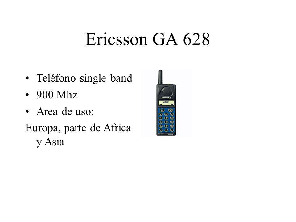 Ericsson GA 628 Teléfono single band 900 Mhz Area de uso: Europa, parte de Africa y Asia